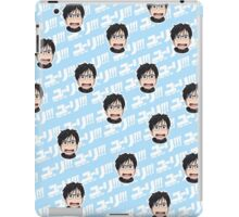 mini yuri katsuki (blue) iPad Case/Skin