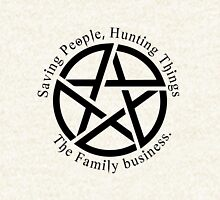 Saving People, Hunting Things. The Family Business Hoodie