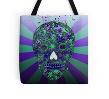 Hipster sugar skull design by LeahG  Tote Bag