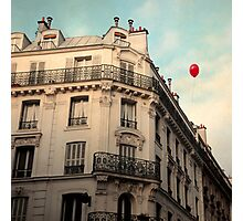 Balloon Rouge Photographic Print