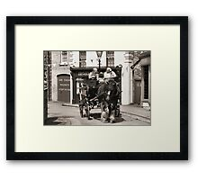 Up Hill, all the way Framed Print