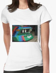 Bavarian Batmobile Womens Fitted T-Shirt