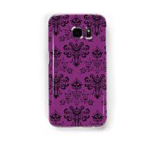 Haunted Mansion Pink Wallpaper Samsung Galaxy Case/Skin
