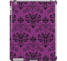 Haunted Mansion Pink Wallpaper iPad Case/Skin