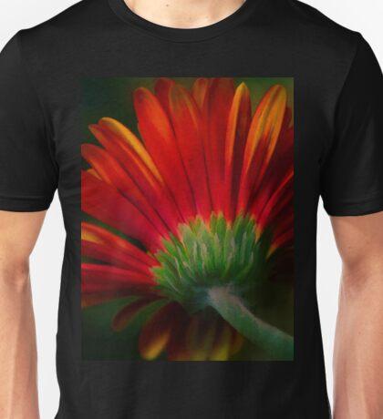 Gerbera Red Unisex T-Shirt