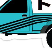 Toyota Pickup (blue) Sticker