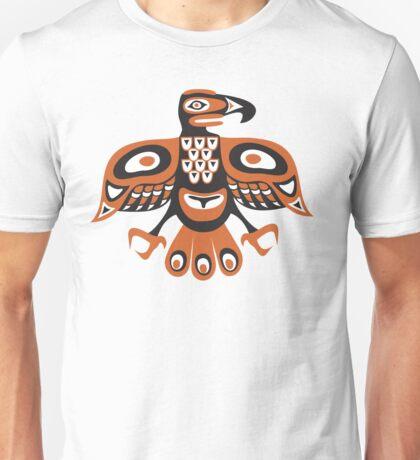 Bird - totem pole style Unisex T-Shirt