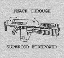 Peace Through Superior Firepower by Cinerama