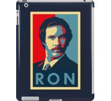 Ron Burgundy (Obama Style) iPad Case/Skin