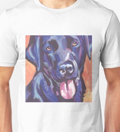 Labrador Retriever Dog Bright colorful pop dog art Unisex T-Shirt