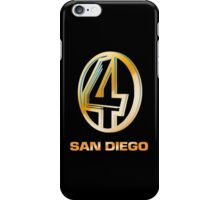 Channel 4 San Diego (Gold) iPhone Case/Skin