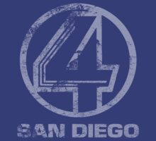 Channel 4 San Diego (Faded & Distressed) by Cinerama