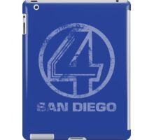 Channel 4 San Diego (Faded & Distressed) iPad Case/Skin