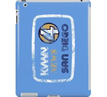 KVWN News 4 San Diego (Distressed) iPad Case/Skin