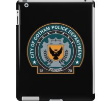 Gotham Police Deparment Badge iPad Case/Skin