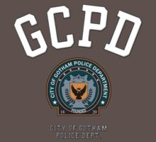 City of Gotham Police Department (Stitched Effect) Kids Clothes