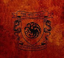 House Targaryen by isabelgomez