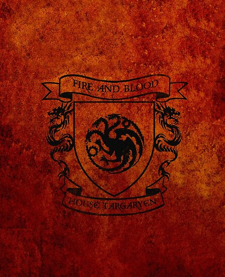 House Targaryen by isabelgomez