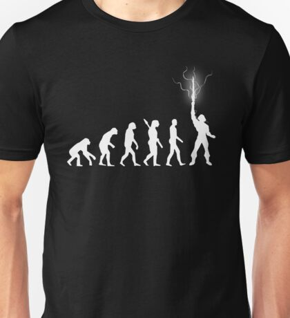 Evolution of power Unisex T-Shirt