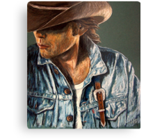 Just Another Cowboy Metal Print