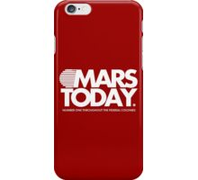 Mars Today - Total Recall (Pocket, White) iPhone Case/Skin