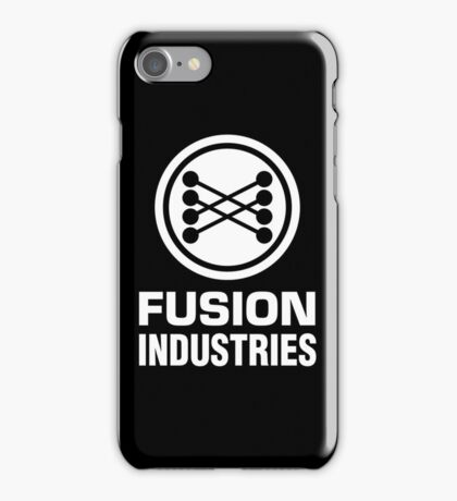 Fusion Industries - Back to the Future (White) iPhone Case/Skin