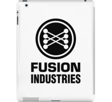 Fusion Industries - Back to the Future (Black) iPad Case/Skin