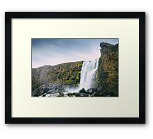 A Land of Ice and Fire Framed Print