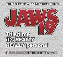 Jaws 19 - This time it's really really personal (Back to the Future) Kids Clothes