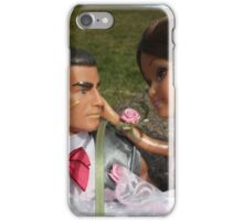 Barbie and Action man on Wedding day iPhone Case/Skin