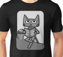 Street Cat Guide Book - black and white Unisex T-Shirt
