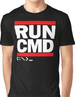 RUN CMD C:\>_ Graphic T-Shirt