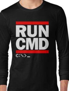 RUN CMD C:\>_ Long Sleeve T-Shirt
