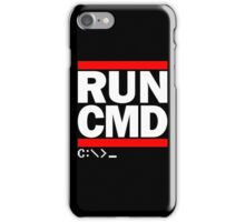 RUN CMD C:\>_ iPhone Case/Skin