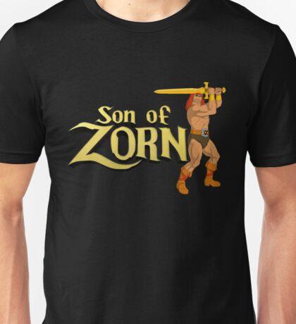Son of Zorn Fan Art Print Design on Black Unisex T-Shirt
