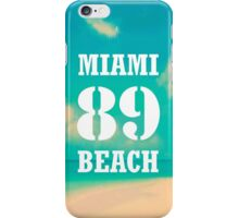 Miami Beach iPhone Case/Skin