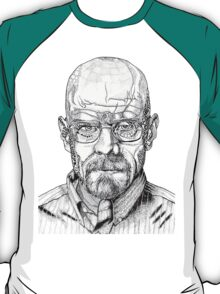 Walter White Portrait T-Shirt