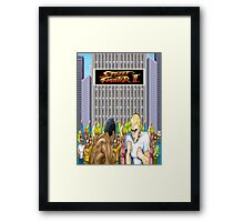Street Fighter 2 Framed Print