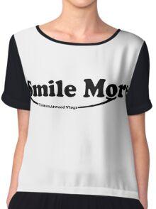 Roman Atwood Smile More Chiffon Top
