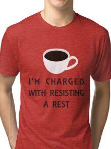 Coffee Charge Tri-blend T-Shirt