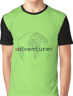 #adventurer Graphic T-Shirt
