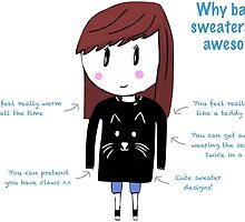 Why Baggy Sweaters Are Awesome by CuteAsFrick