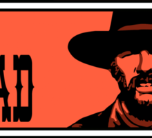 BTTF: The good, the bad and the ugly Sticker