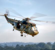 Sea King Helicopter by © Steve H Clark