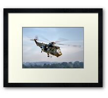 Sea King Helicopter Framed Print