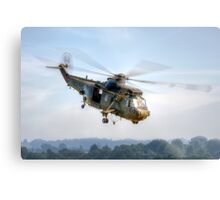 Sea King Helicopter Metal Print