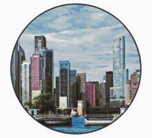 Chicago IL - Chicago Harbor Lock One Piece - Short Sleeve