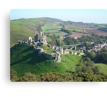 Purbeck view Canvas Print