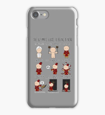 The Ultimate Guide To Being A Nerd iPhone Case/Skin