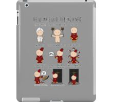The Ultimate Guide To Being A Nerd iPad Case/Skin